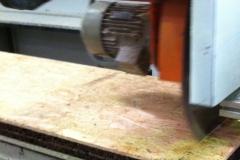 Mecanizado do Painel sandwich cortiça