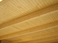Esquema de painel sandwich friso madeira
