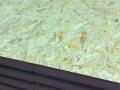 Painel sandwich madeira OSB  detalhe junta sobreposição
